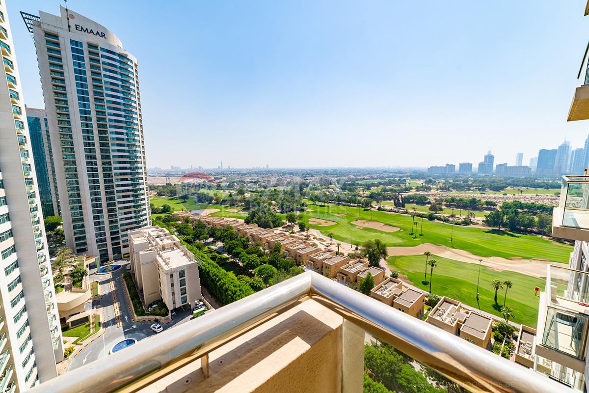 Stunning Views | Chiller Free | Vacant - Golf Tower 2, Golf Towers, The Views, Dubai