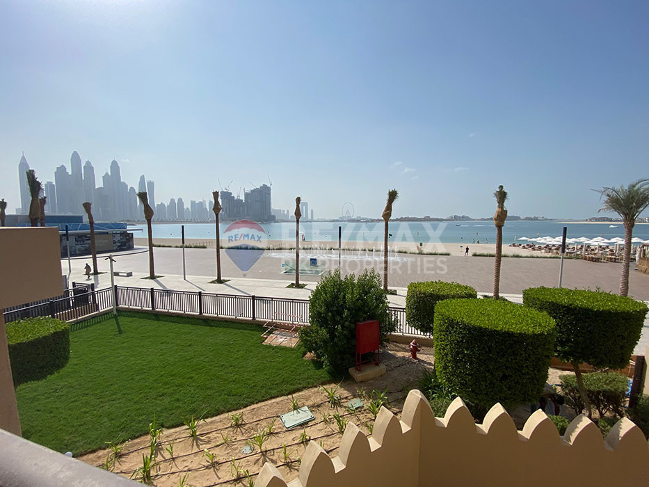 Premium 5 Bed TH | Outstanding View | Direct Beach - The Fairmont Palm Residence South, The Fairmont Palm Residences, Palm Jumeirah, Dubai