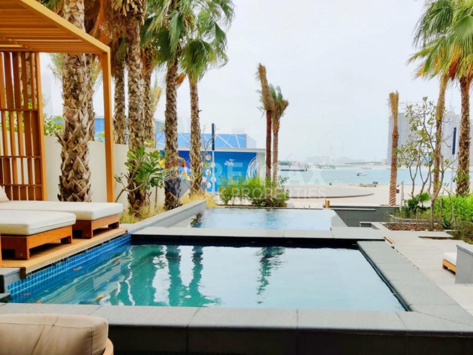 BEACHFRONT I private pool I jaccuzi I beach access - FIVE Palm Jumeirah, Palm Jumeirah, Dubai
