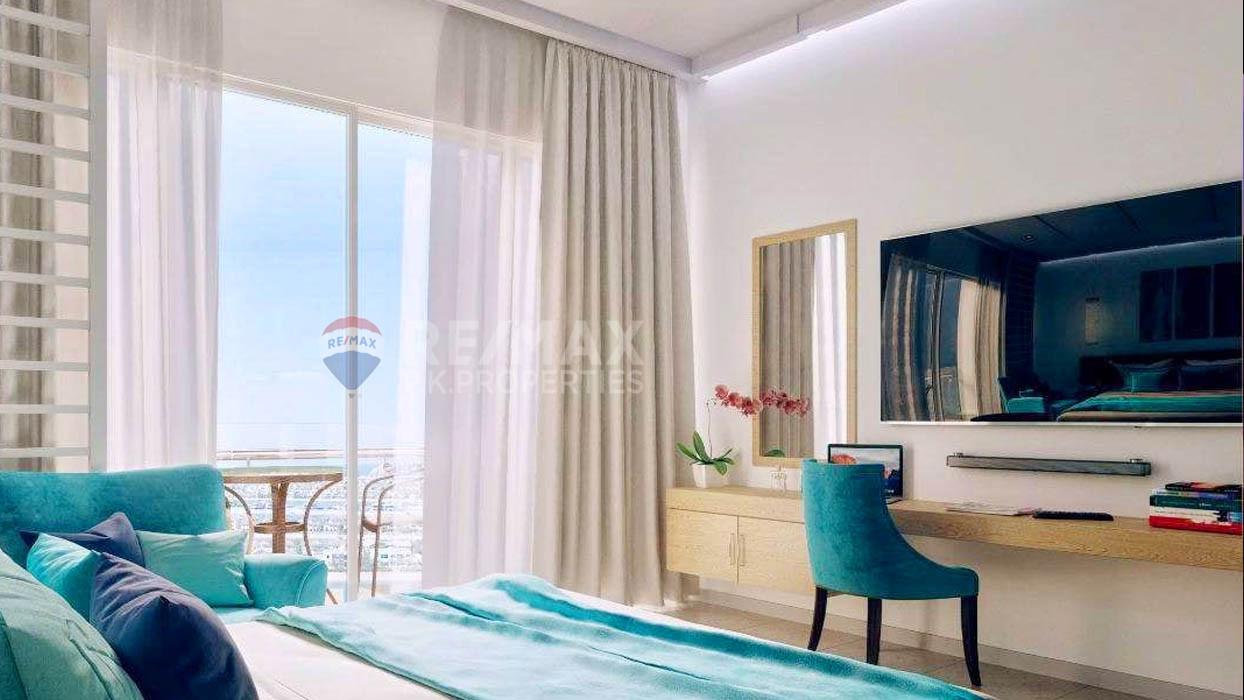 Sea view Studio for sale| Prime location - Seven Palm, Palm Jumeirah, Dubai