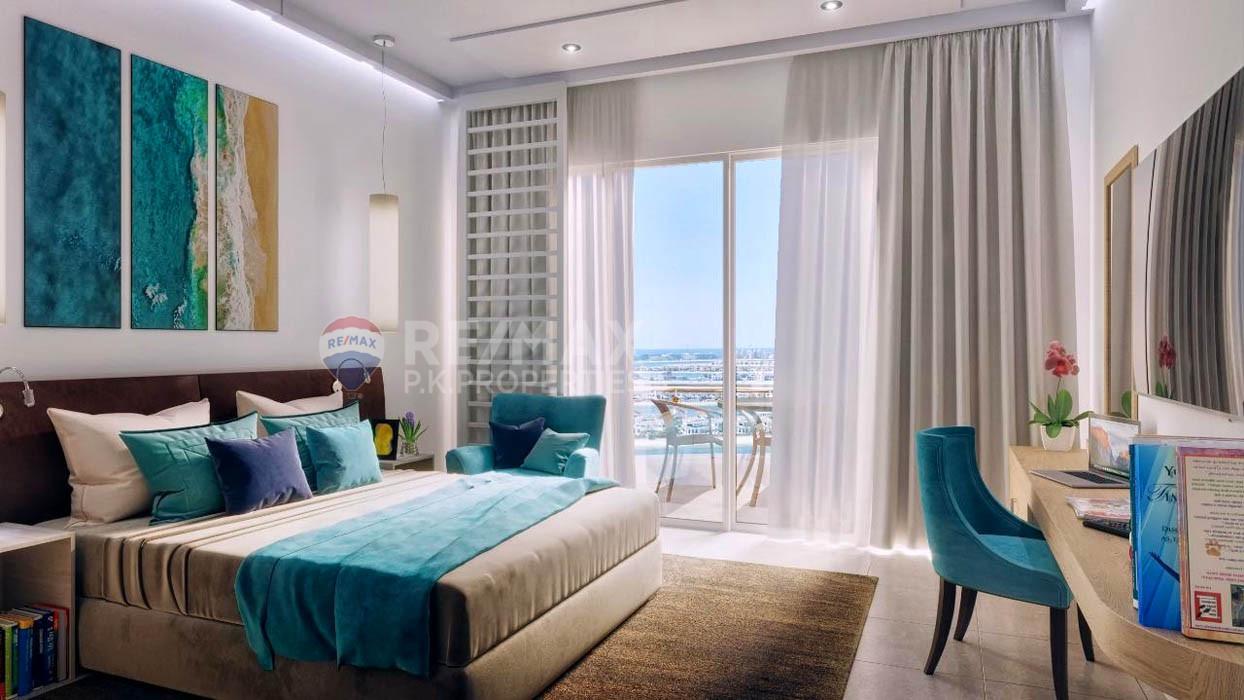 Sea view Studio in Seven Palm| Prime location - Seven Palm, Palm Jumeirah, Dubai