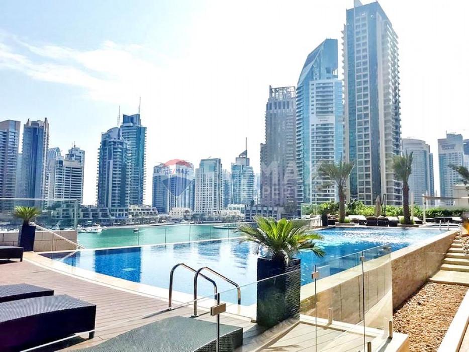Nice 1 Bed apt for Sale   Marina and Gulf View - Damac Heights, Dubai Marina, Dubai
