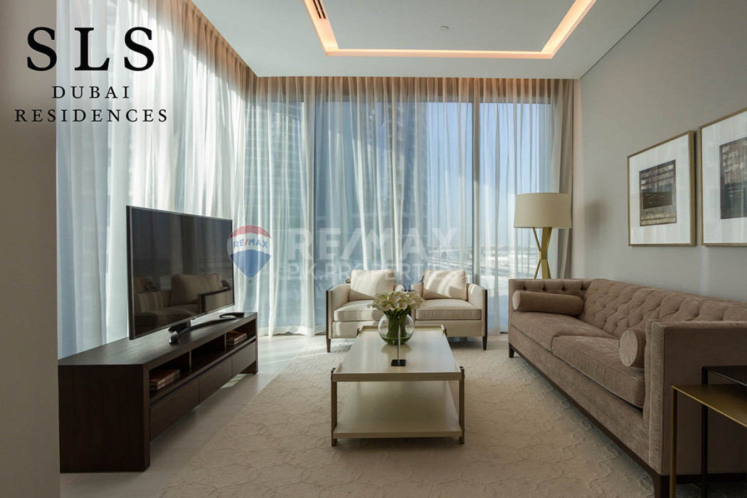 Two bedrooms Duplex for sale at SLS Residences - SLS Dubai Hotel & Residences, Business Bay, Dubai