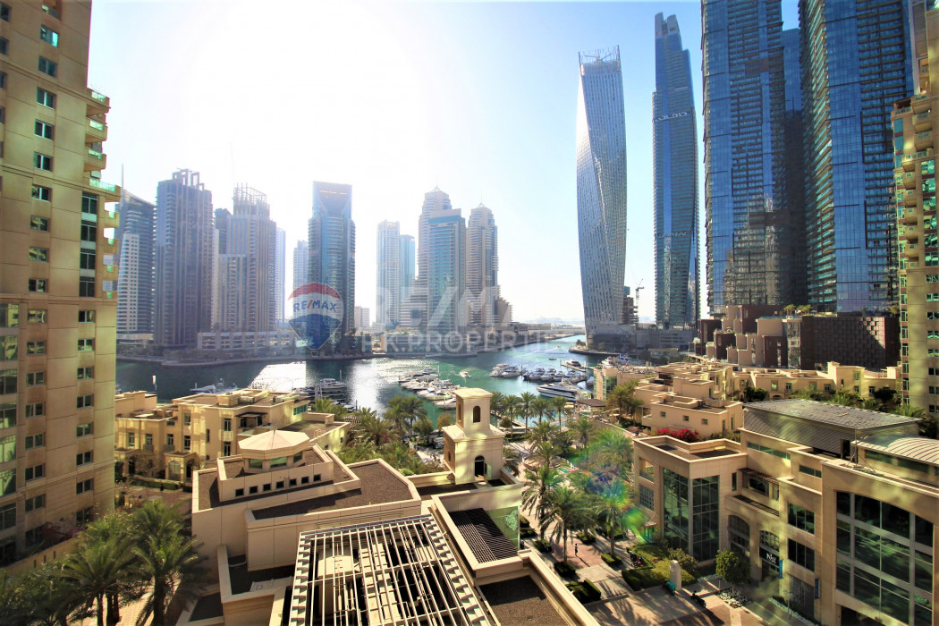 Marina View | 2 + Study | Furnished - Al Mesk Tower, Emaar 6 Towers, Dubai Marina, Dubai