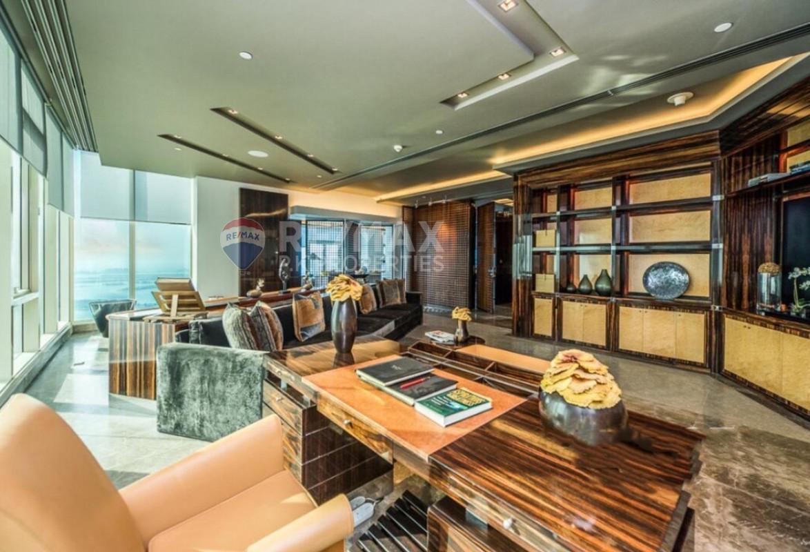 Full Floor | Penthouse | 5 Beds | Sea View - Le Reve, Dubai Marina, Dubai