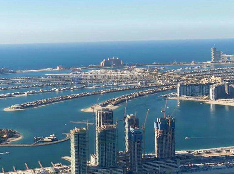 Penthouse | High Floor | Furnished | 5 Bedrooms - Princess Tower, Dubai Marina, Dubai