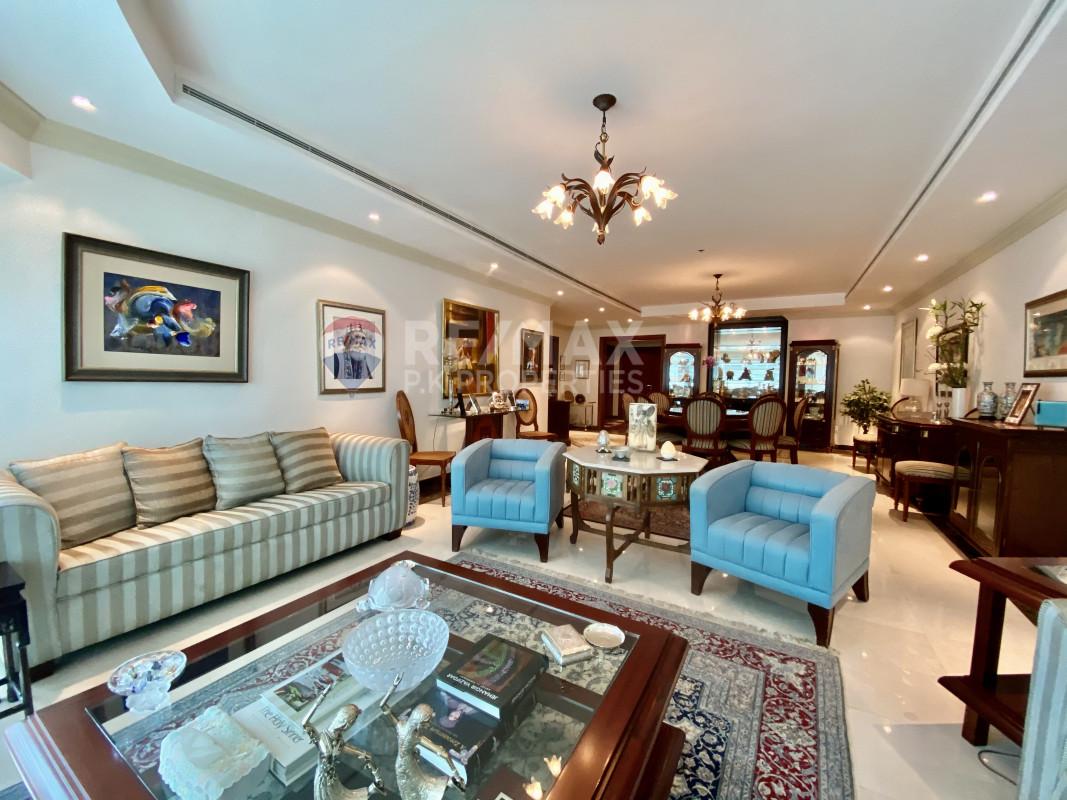 Elegant | Beautiful | Furnished 3 Bedrooms - Al Seef Tower, Dubai Marina, Dubai