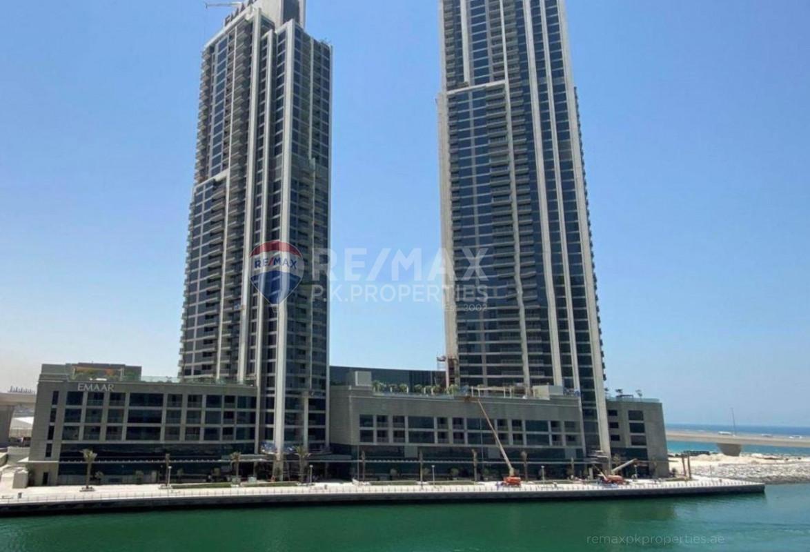 Resale | Sea And Dubai Eye | High Floor - 5242, Dubai Marina, Dubai