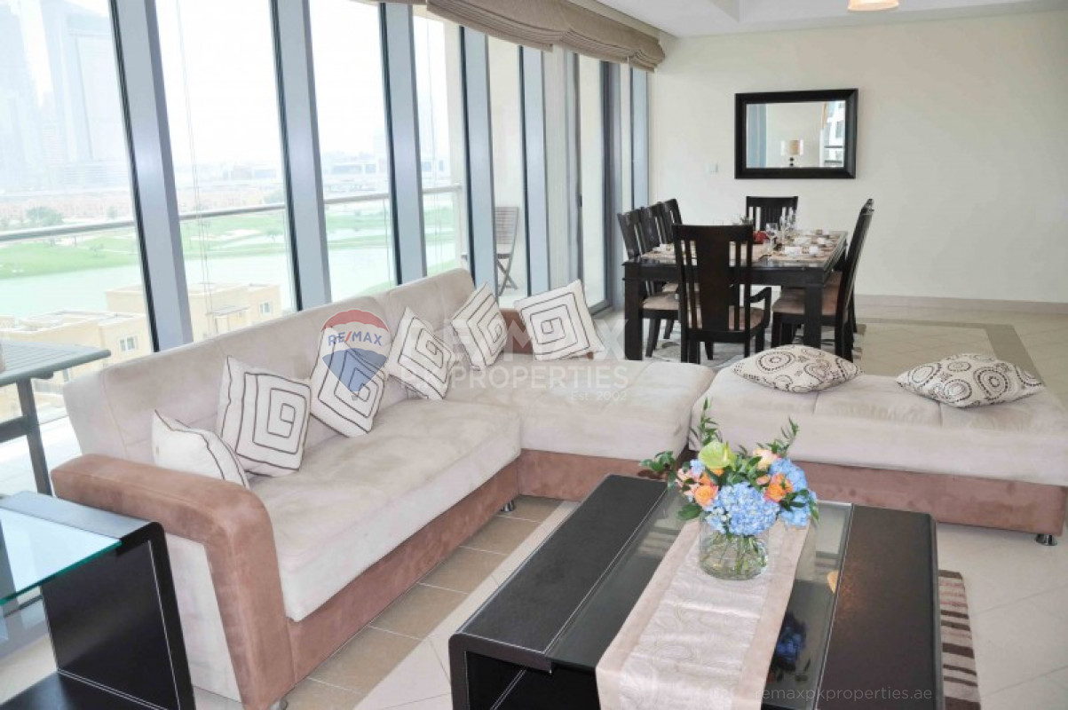 Exclusive | Full Golf Course View | BEST LAYOUT - Golf Tower 1, Golf Towers, The Views, Dubai