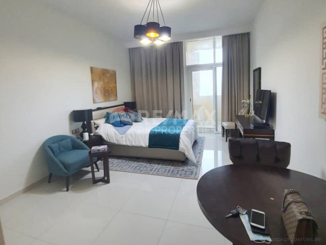 fully furnished studio ready to move for sale - Ghalia, District 18, Jumeirah Village Circle, Dubai
