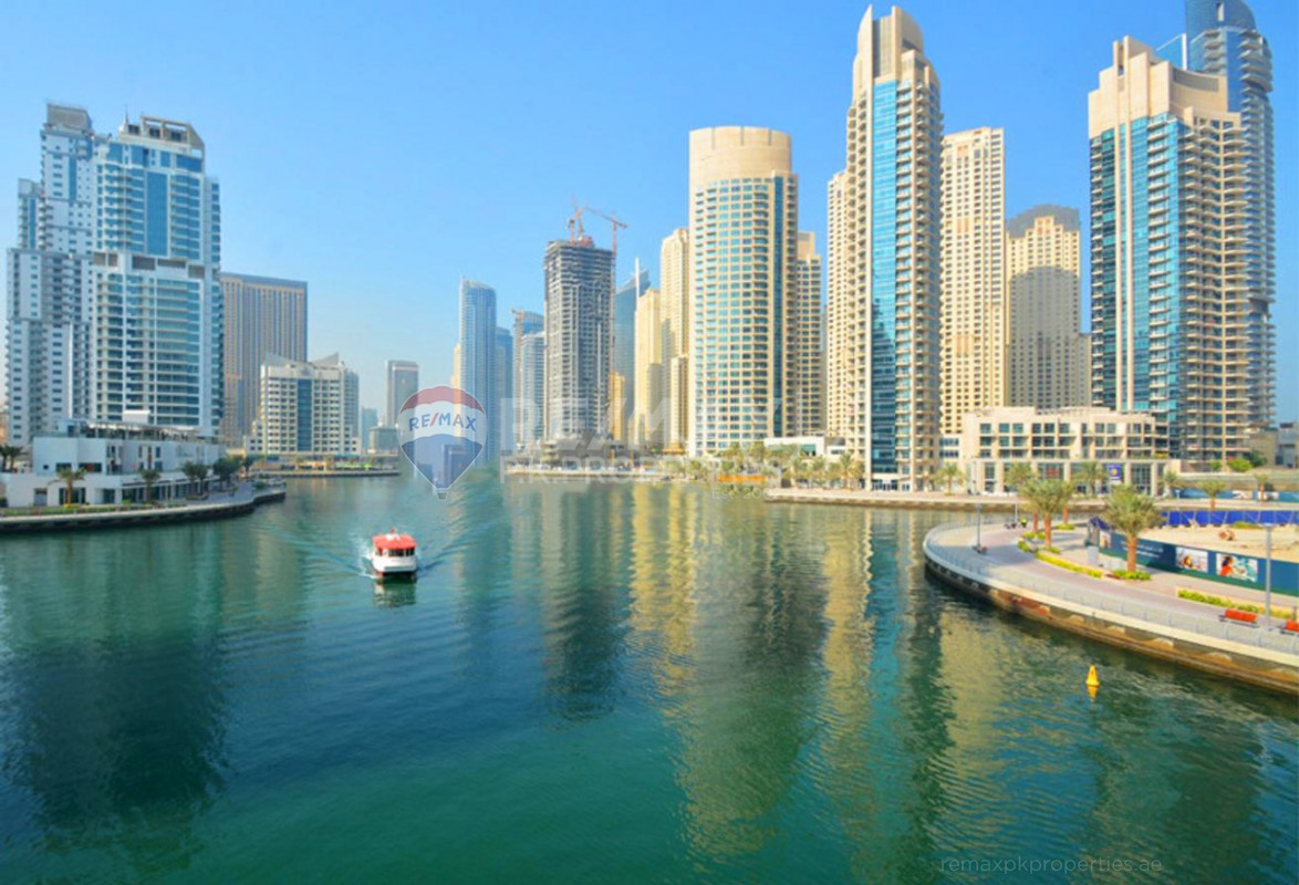 Upgraded | Trendy | 1 BEDROOM | Low Floor - Fairfield Tower, Park Island, Dubai Marina, Dubai