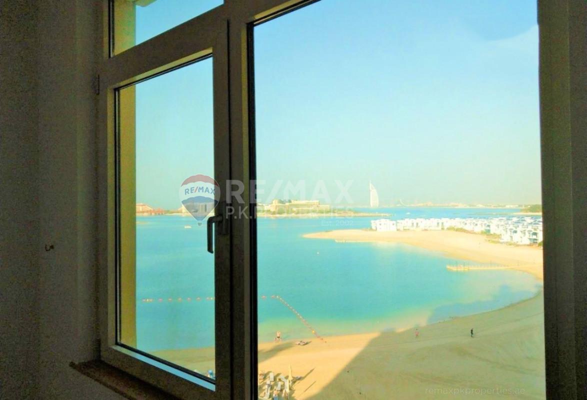 SEA VIEW | HIGH ROI | PERFECT FOR INVESTORS - Al Haseer, Shoreline Apartments, Palm Jumeirah, Dubai