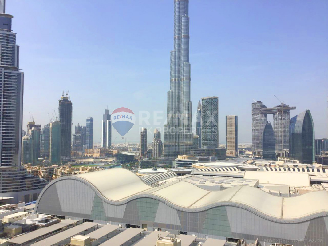 Luxury 2BHK    Study Room   Burj View - The Address Residence Fountain Views 1, The Address Residence Fountain Views, Downtown Dubai, Dubai