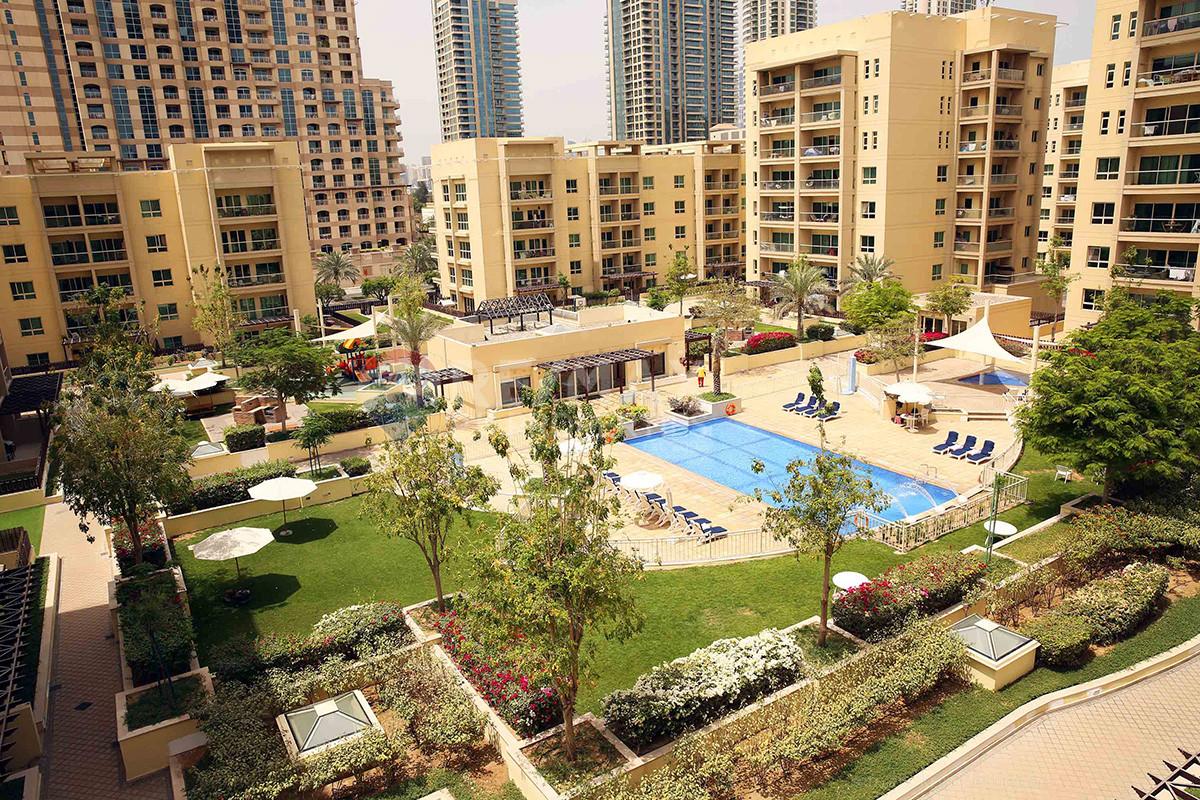 Exclusive | Fully Furnished | Pool View - Al Arta 3, Al Arta, Greens, Dubai