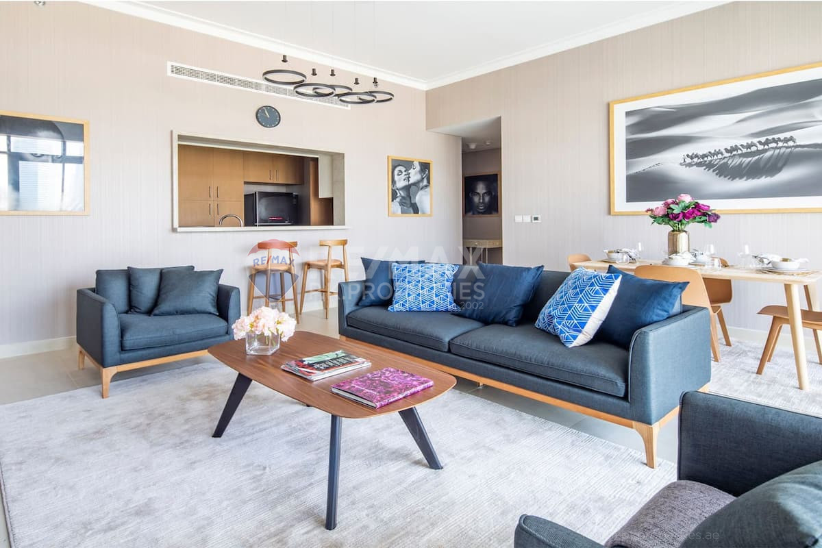 Vacant on Transfer   Fully Furnished   High Floor - Vida Residence 2, Vida Residence, The Hills, Dubai