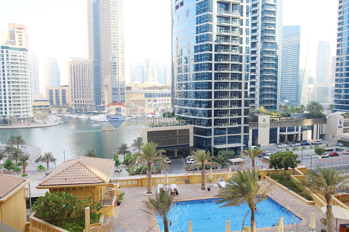 Fully Furnished   Marina Views   Perfect Location - Sadaf 2, Sadaf, Jumeirah Beach Residence, Dubai