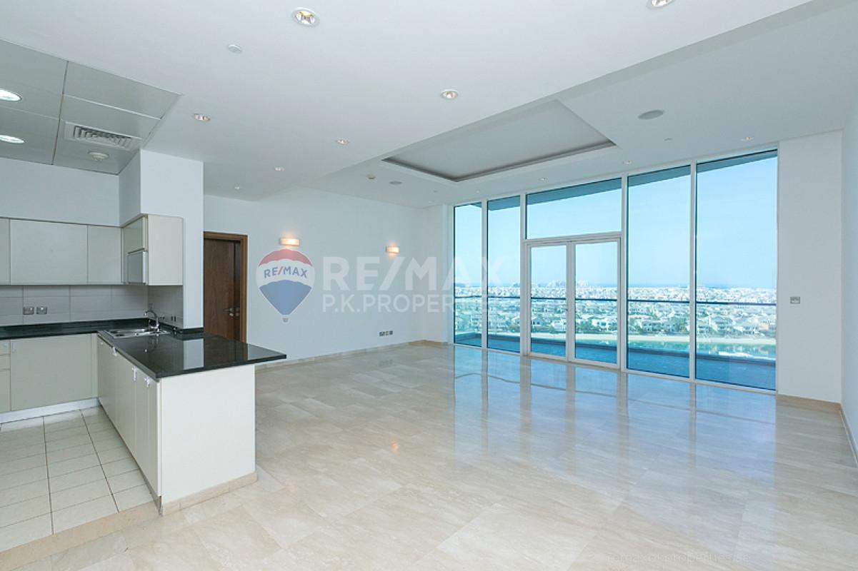 High Floor I Atlantis Sea View I Motivated Seller - Oceana Pacific, Oceana, Palm Jumeirah, Dubai