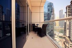 Contemporary Apt | Partial Marina Views, West Avenue Tower, Dubai Marina, Dubai