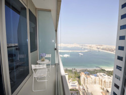 Partial Palm View | Ocean Heights | Triple Balcony, Ocean Heights, Dubai Marina, Dubai