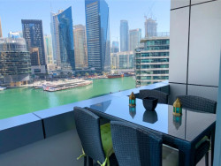 Fully Furnished 1 bedroom | Full Marina View Bay Central, Bay Central West