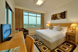 Furnished 1 Bedroom Serviced Hotel Apartment in Dubai, JLT, Oaks Liwa Heights, Lake Allure, Jumeirah Lake Towers, Dubai